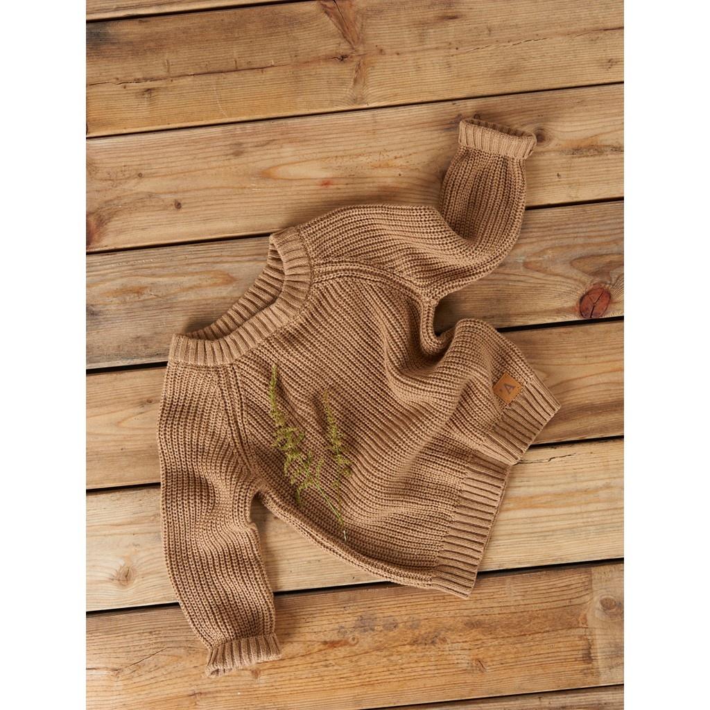Imilio Longsleeve Knit - Glazed Ginger-5