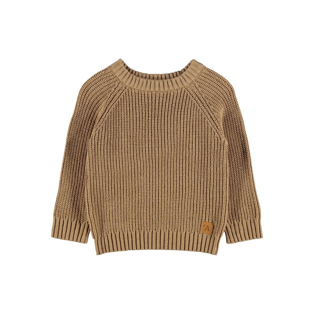 Imilio Longsleeve Knit - Glazed Ginger-1