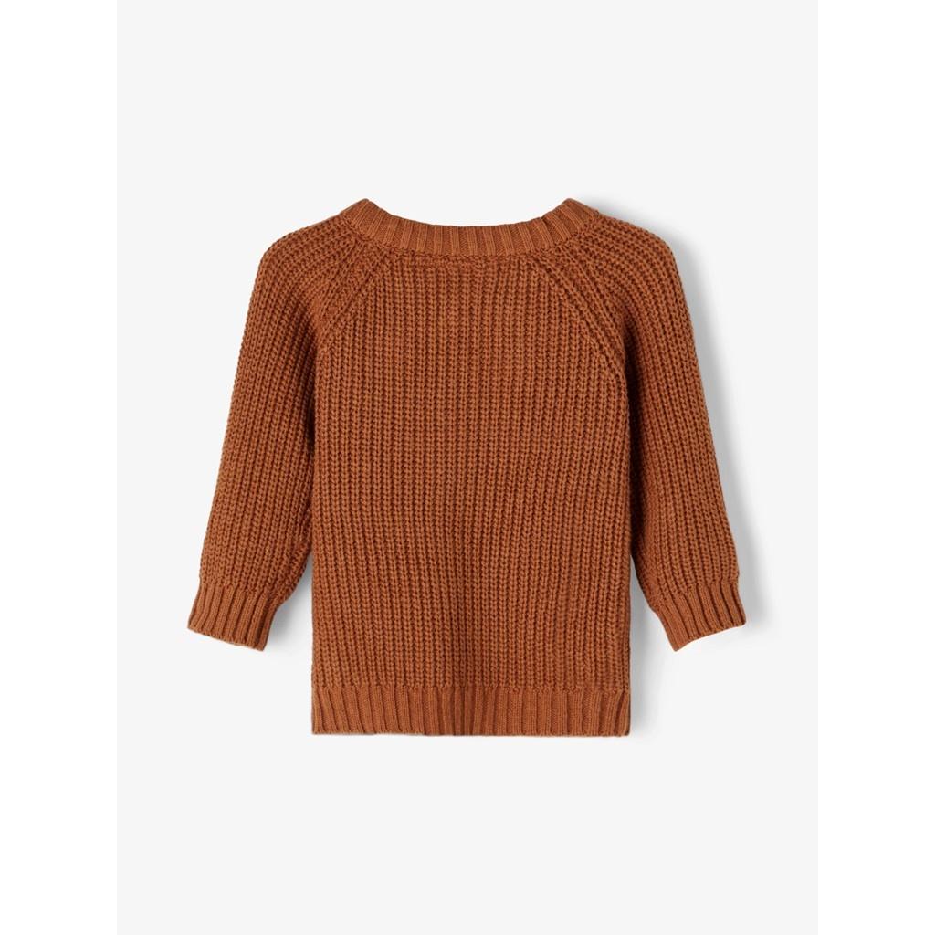 Imilio Longsleeve Knit cardigan - Apple Cinnamon-2