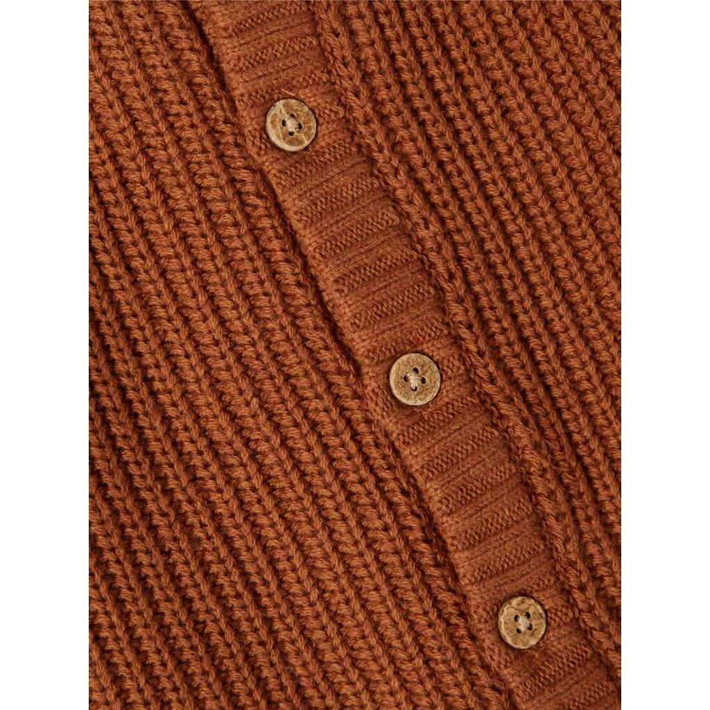 Imilio Longsleeve Knit cardigan - Apple Cinnamon-3