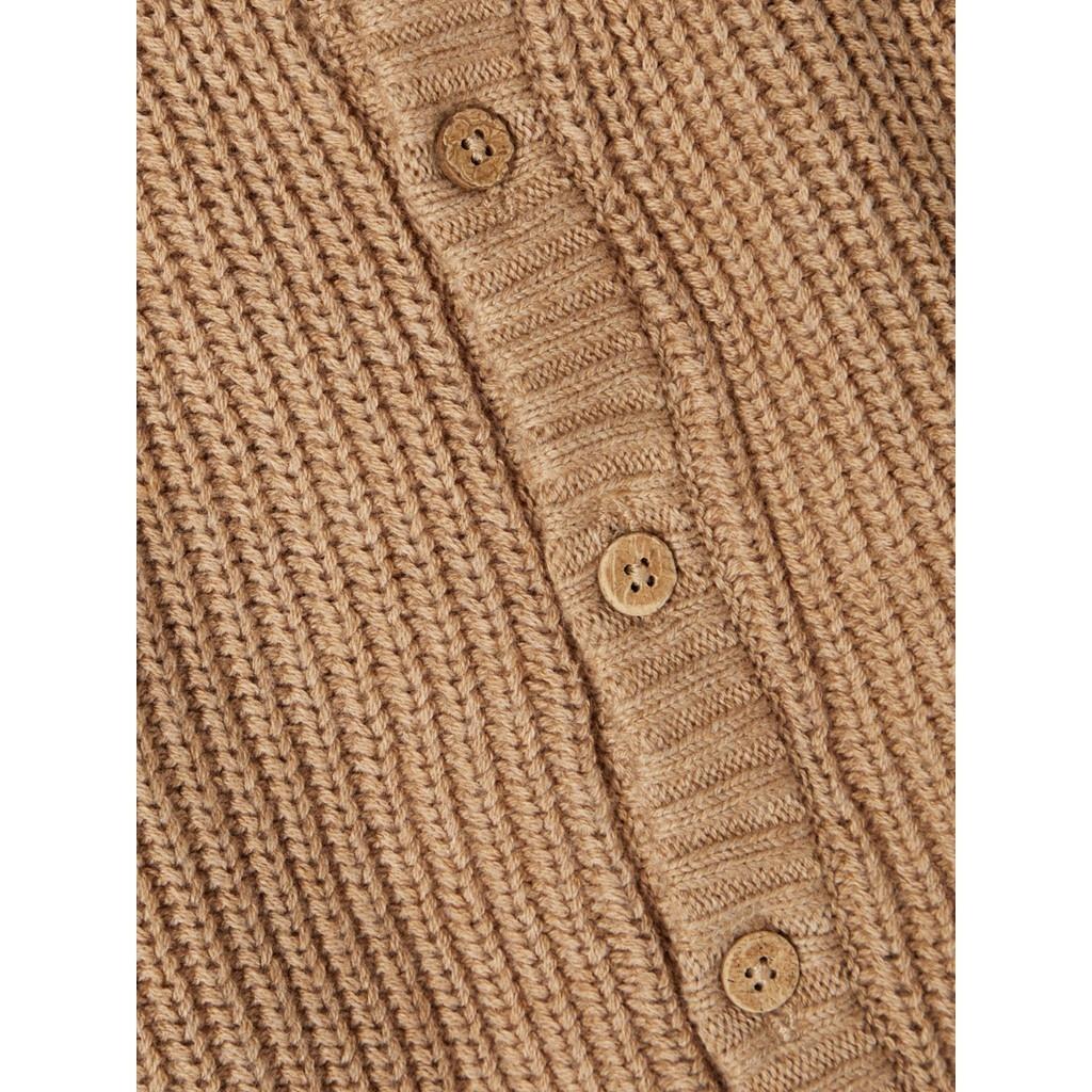 Imilio Longsleeve Knit cardigan - Glazed Ginger-3
