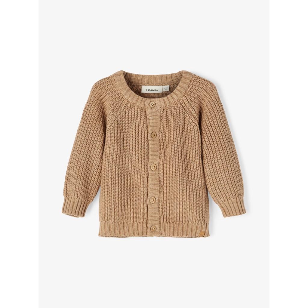 Imilio Longsleeve Knit cardigan - Glazed Ginger-1