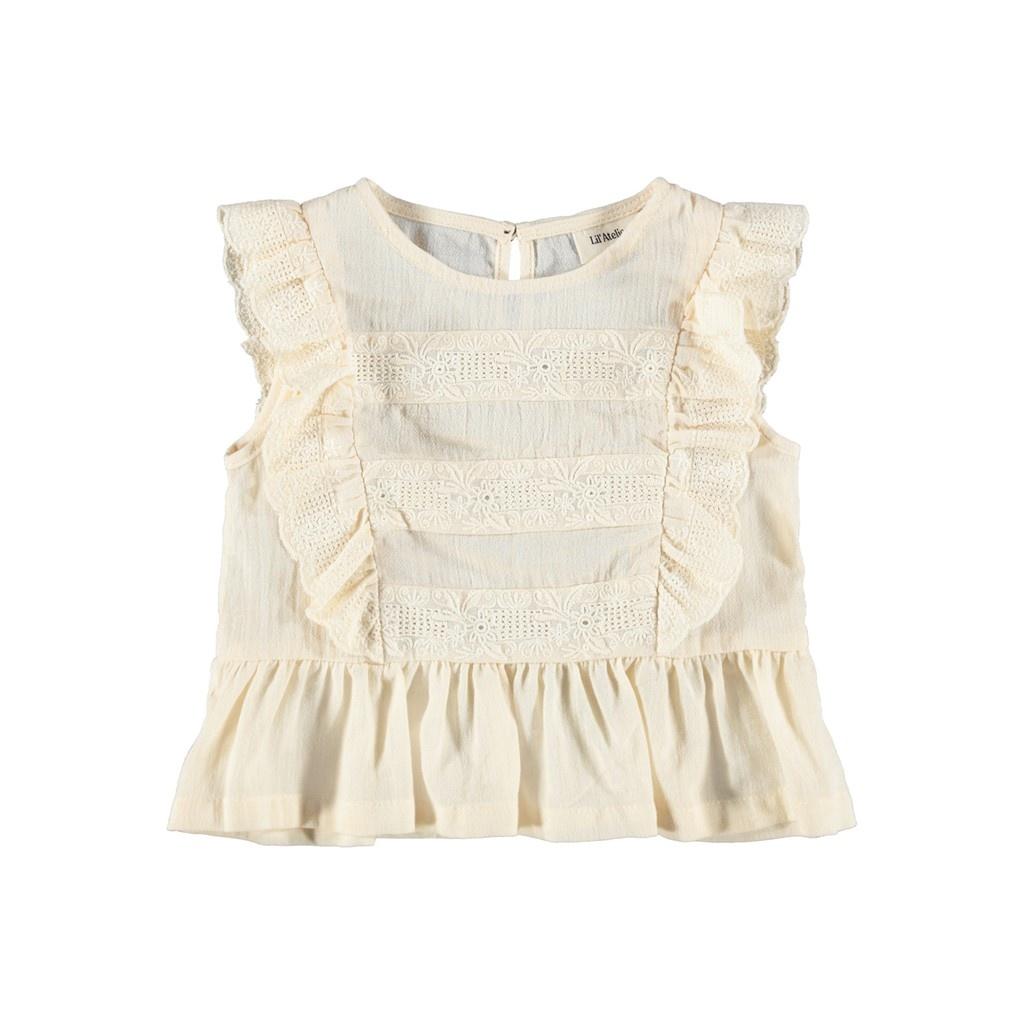 Solange Short Shirt - Turtledove-1