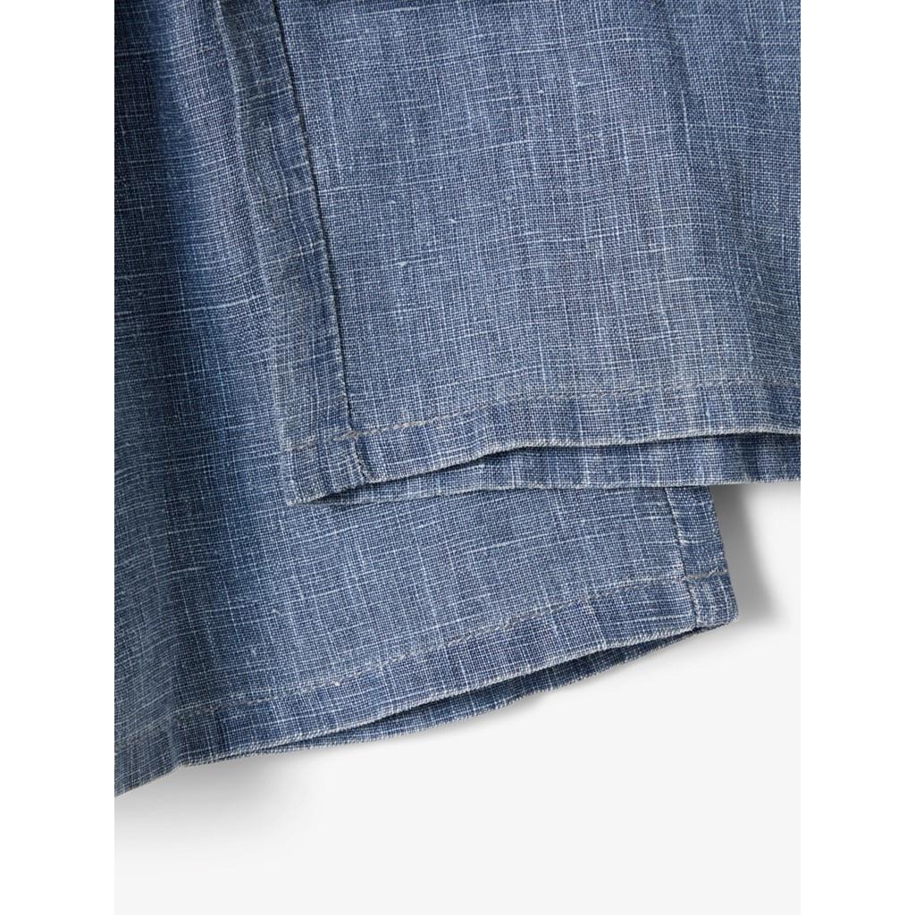 Sally Culotte Pant - Medium Blue Denim-2
