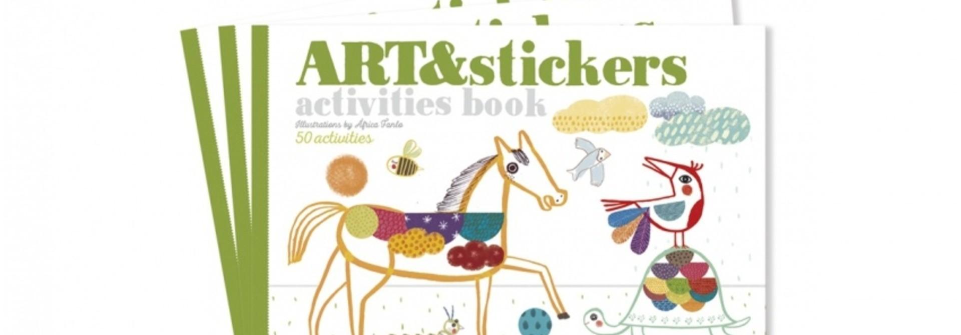 Art & Stickers crafts book