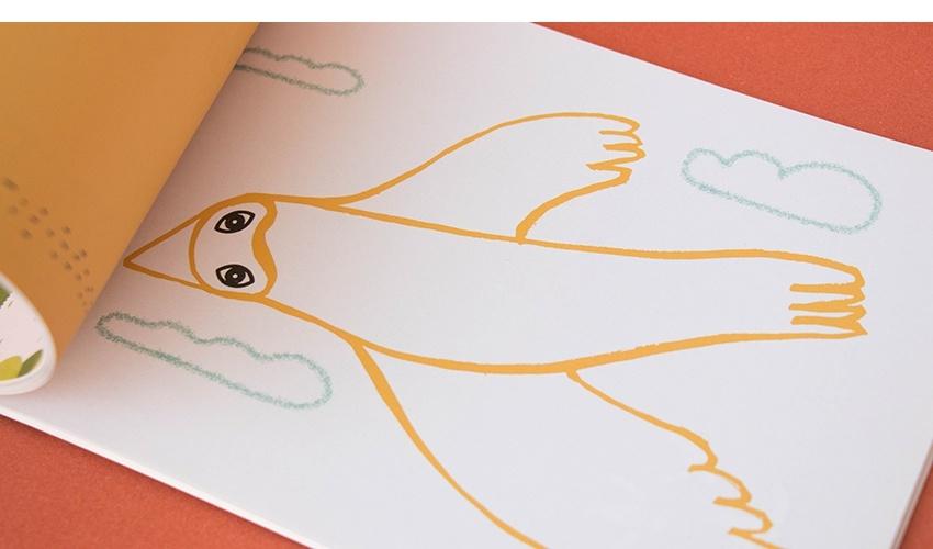 Art & Stickers crafts book-4