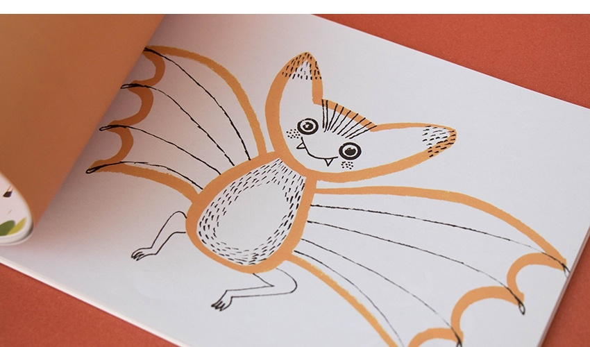 Art & Stickers crafts book-8