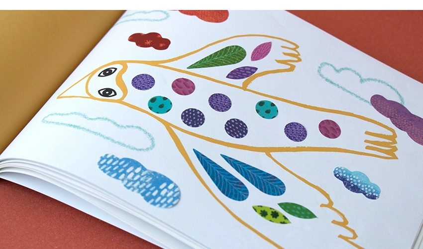 Art & Stickers crafts book-5