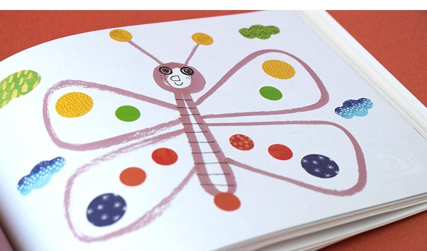 Art & Stickers crafts book-7