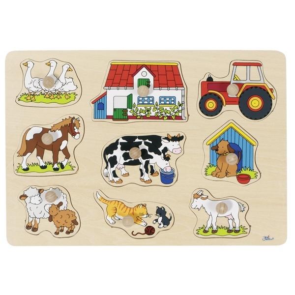 Steekpuzzel boerderij-1