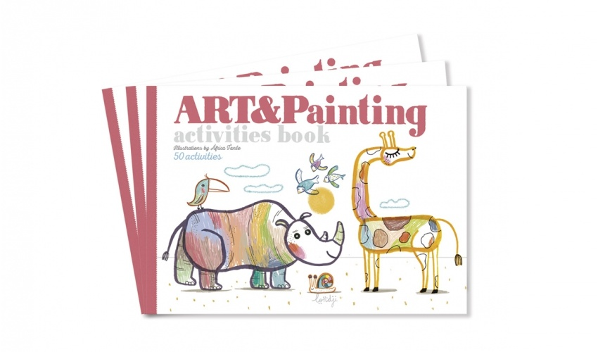 Art & Painting crafts book-1
