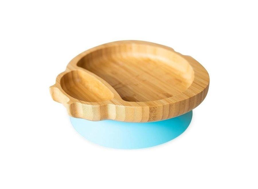 Bamboo plate Lady bird - no melamine-4