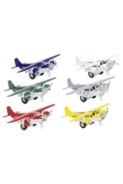 Metal airplane miniature