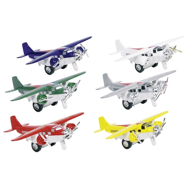 Metalen vliegtuig miniatuur-1