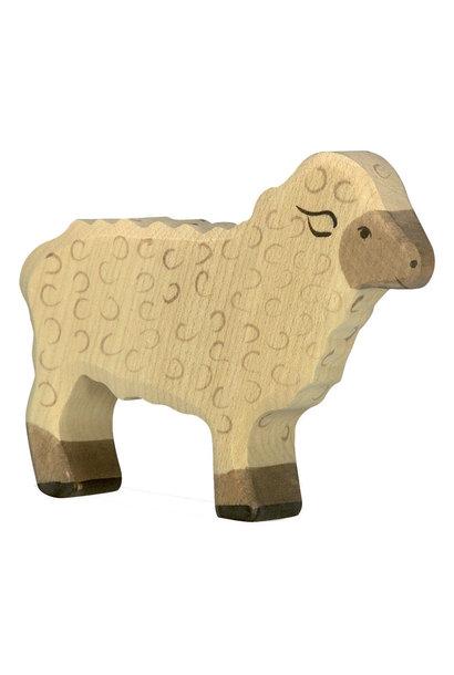 Wooden lamb