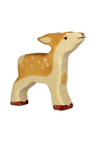 Wooden deer - calf