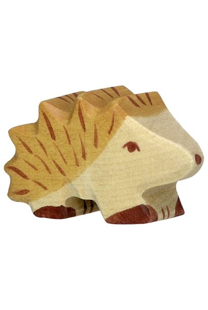 Wooden hedgehog - small