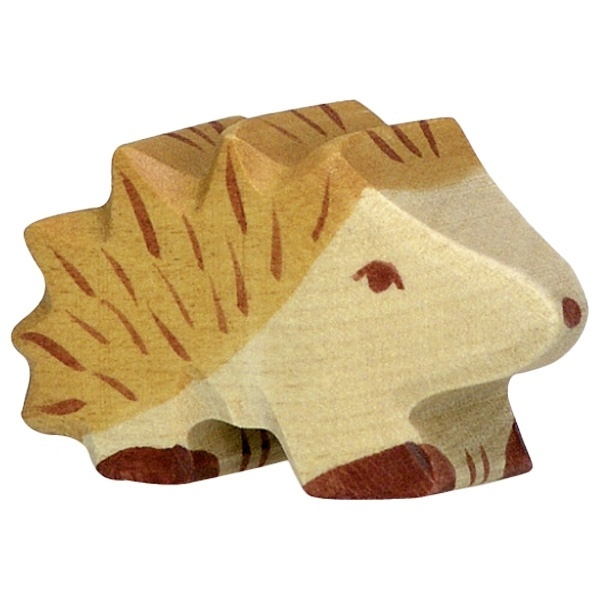 Wooden hedgehog - small-1