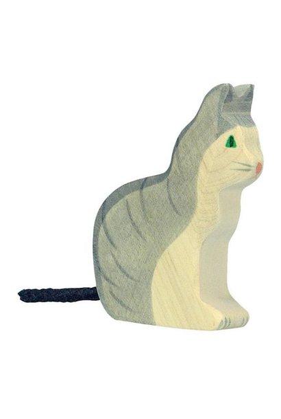 Houten kat / poes