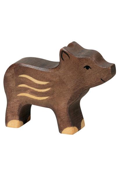Wooden boar - frisling