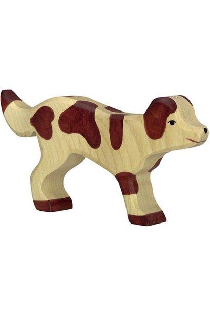 Wooden farm dog