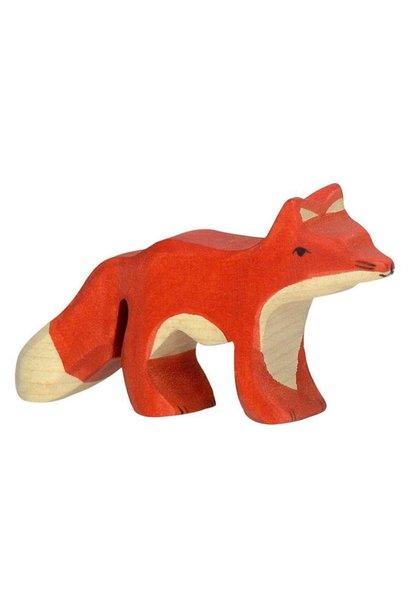 Wooden fox - small