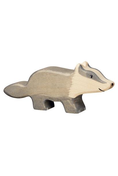 Wooden badger