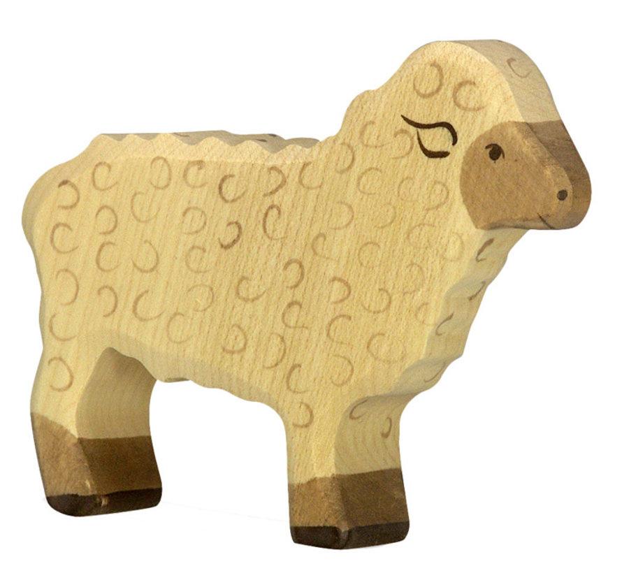 Houten schaap - staand-1