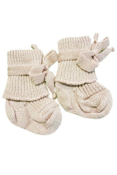 Wollen newborn sokjes
