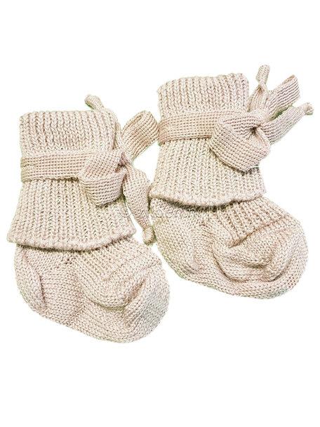 Woolen newborn socks-1