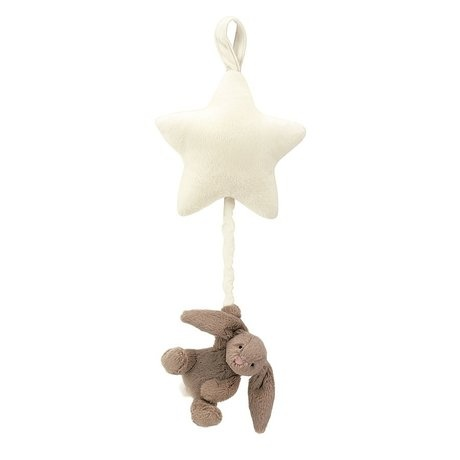 Bashful beige bunny star musical pull-1