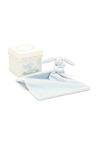 My first blue bunny soother