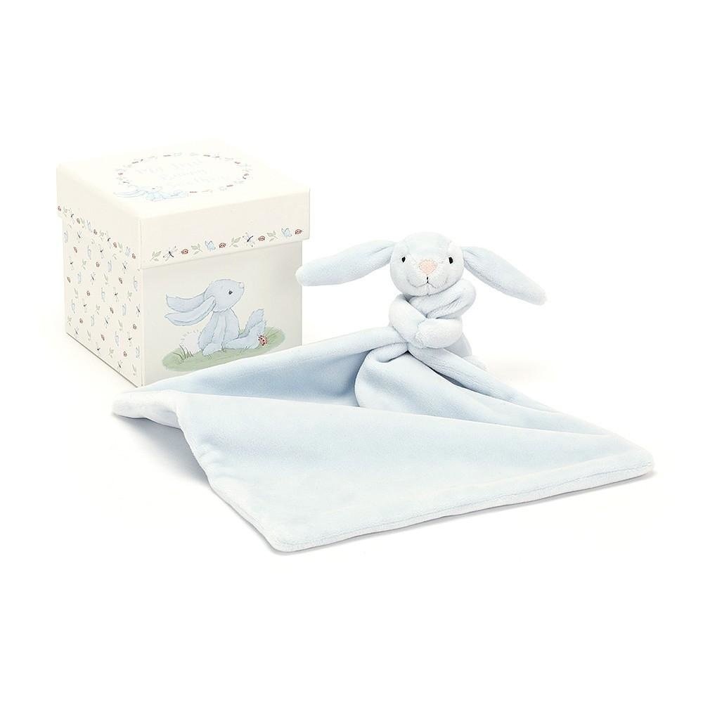 My first blue bunny soother-1