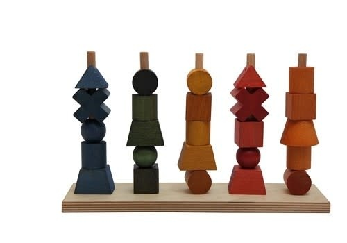 Rainbow Stacking toy-4