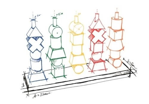 Rainbow Stacking toy-5