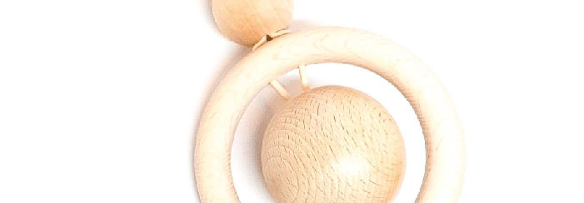 Clip on Pram Toy natural