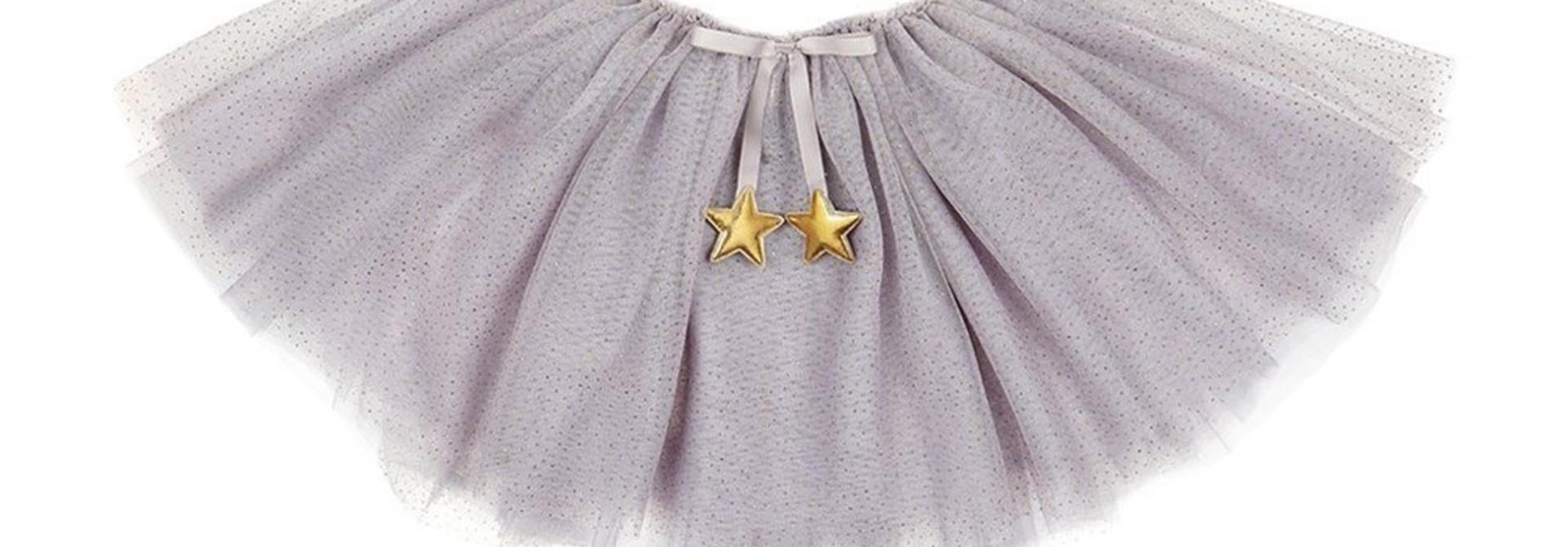 Fairy dust sparkle tutu - grey