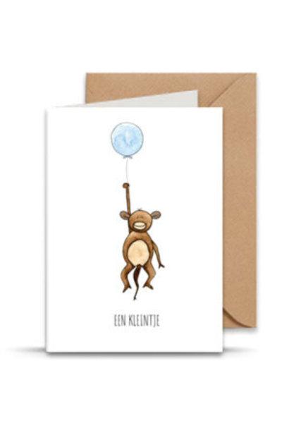"card ""een kleintje"""