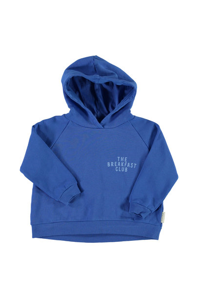 hoodie | indigo  w/ front & back print