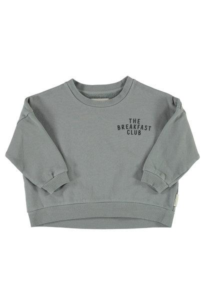 unisex sweatshirt | grey w/ cereal box print