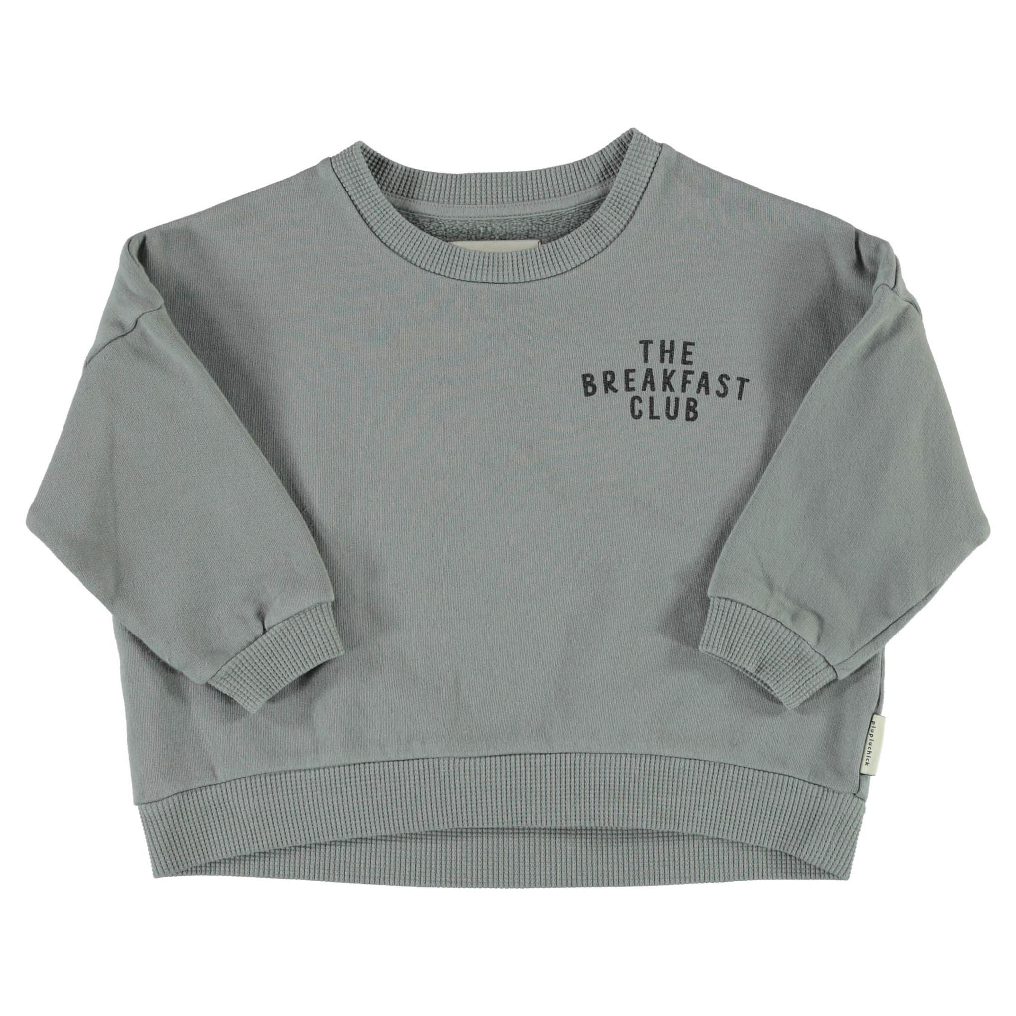 unisex sweatshirt   grey w/ cereal box print-1