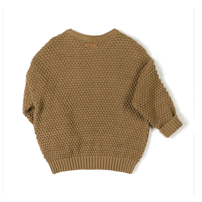 tur knit sweater - toffee-2