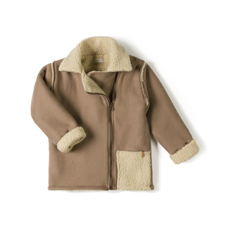 biker jacket - choco-1