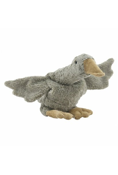Cuddly animal Grey Goose small