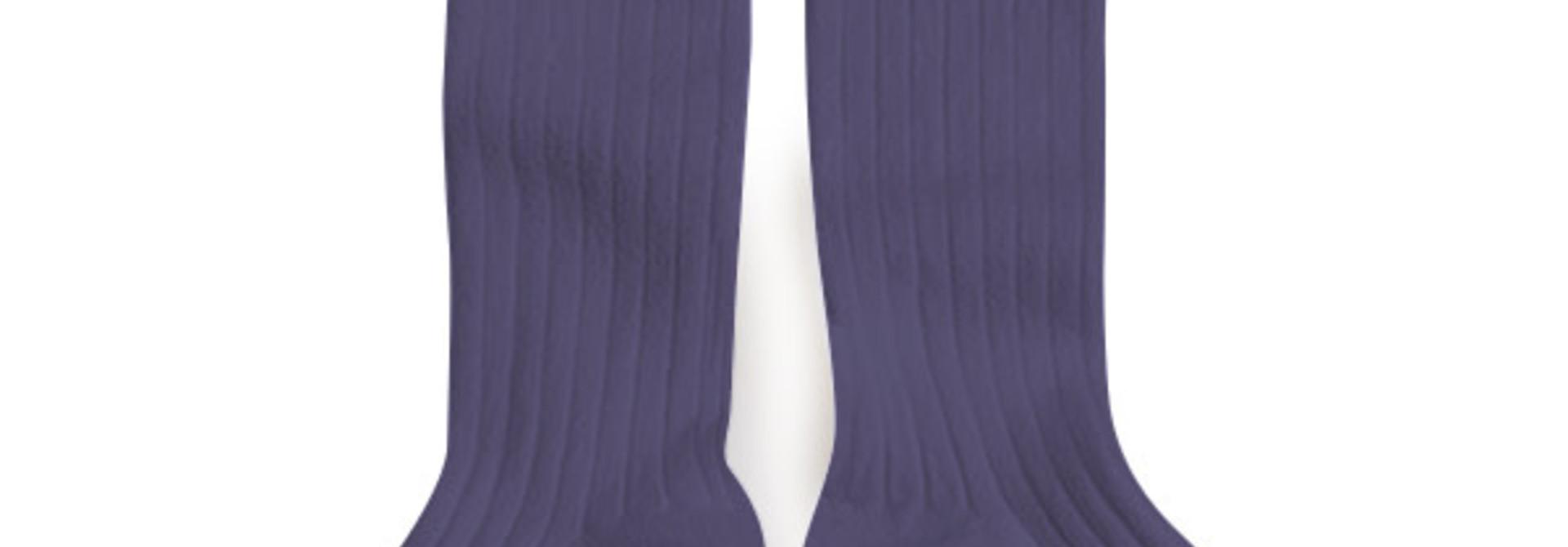 Knee Socks 'La Haute' Fleur de Lavande