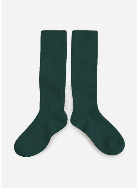Knee Socks 'La Haute' Fond Marin-1