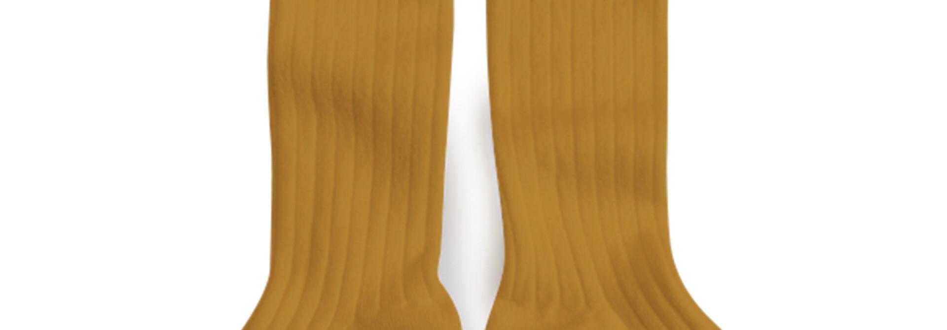 Knee Socks 'La Haute' Moutarde de Dijon