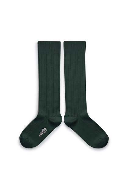 Knee Socks 'La Haute' Vert Forêt