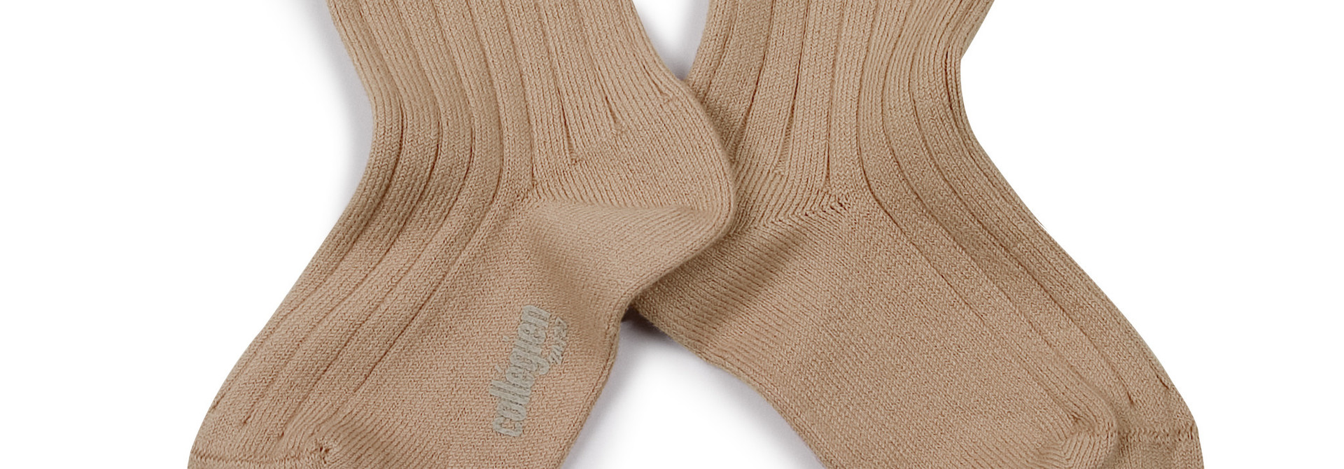 Lace Frill socks 'Margaux' Petite Taupe