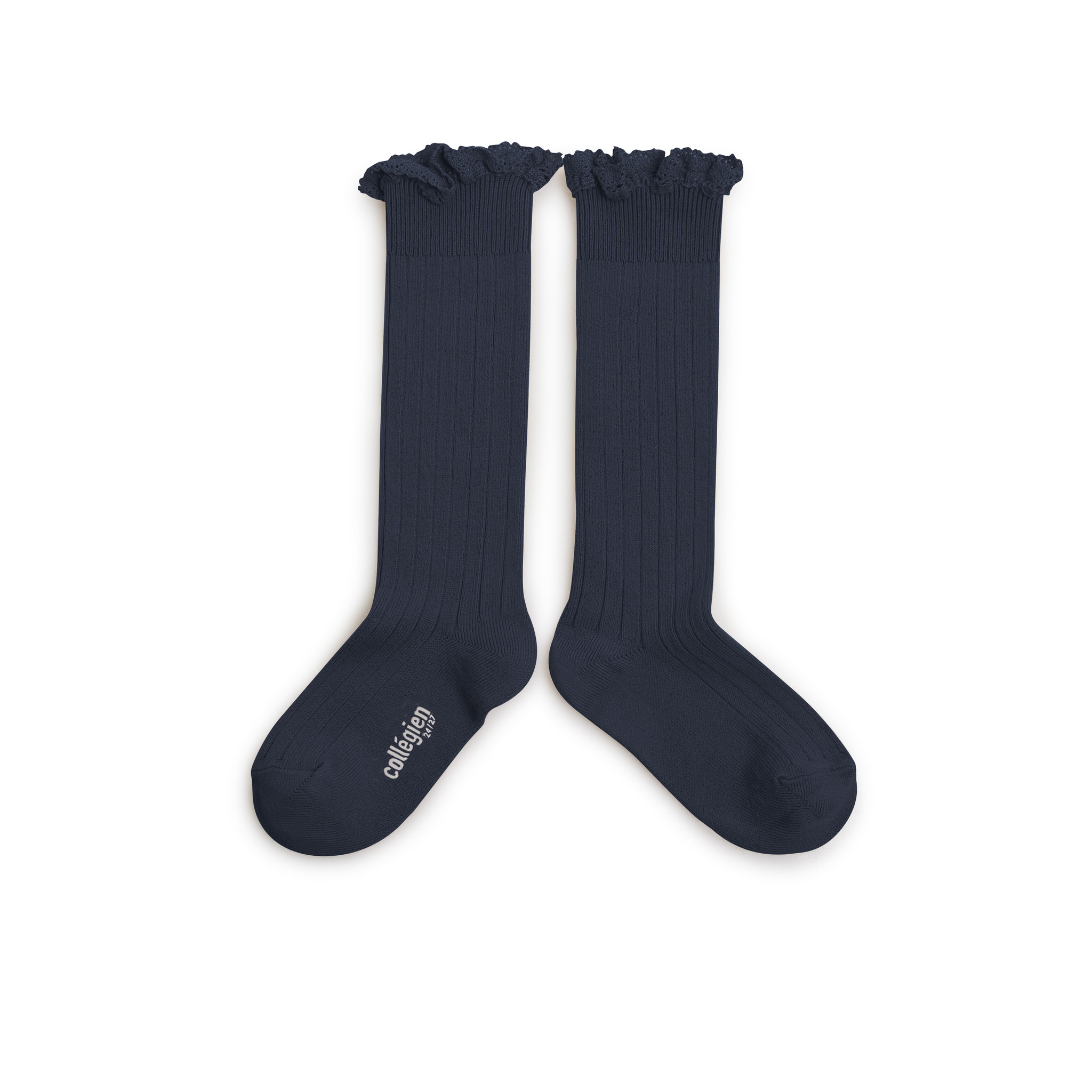 Knee Socks Lace 'Joséphine' Nuit Etoilée-2